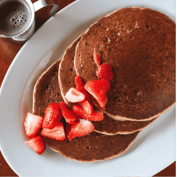 ALMOND ENERGY PANCAKES