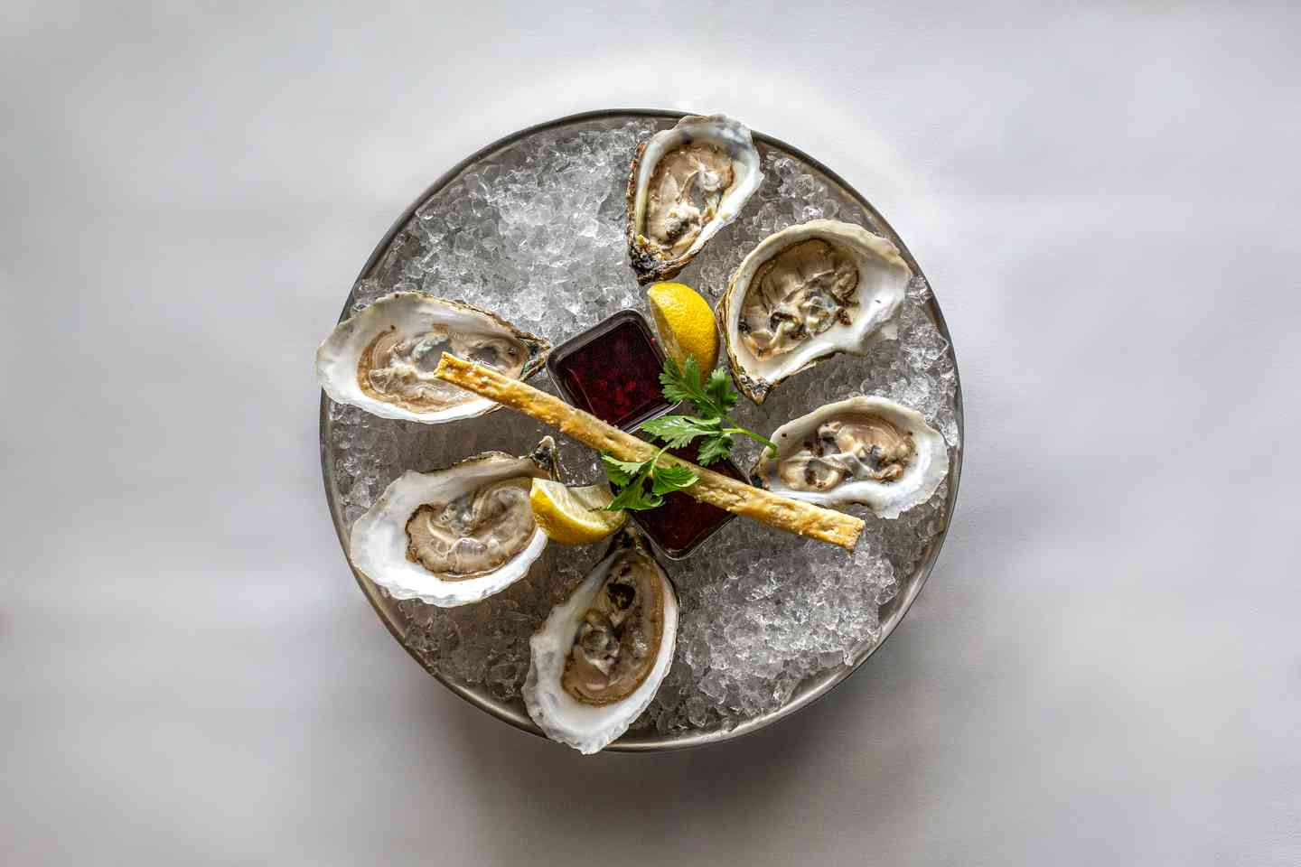 Oysters on The Half Shell*