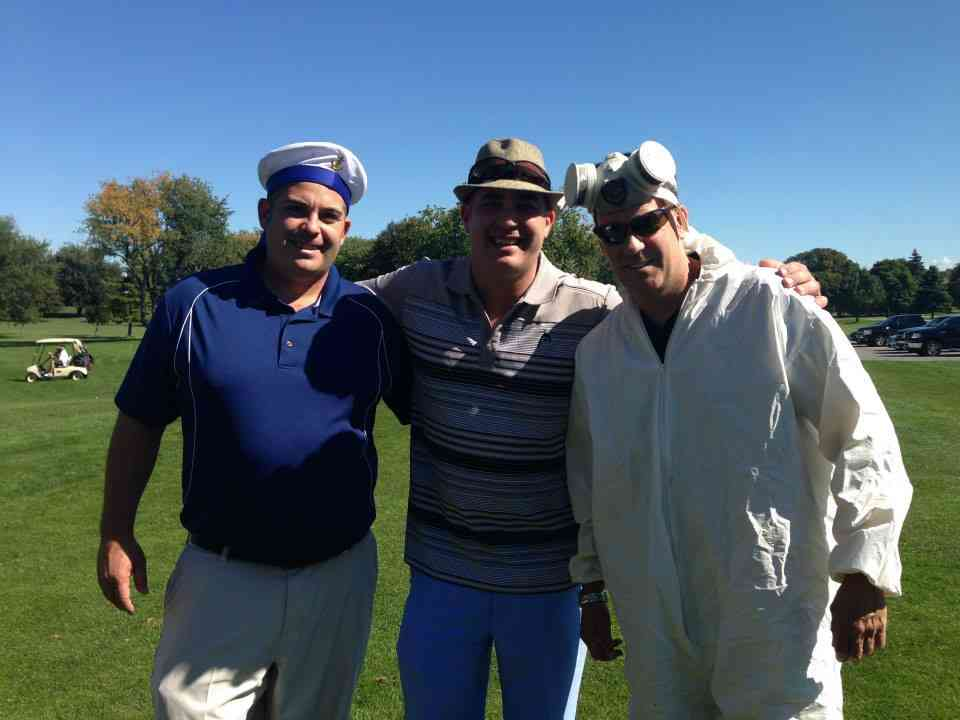 Marc, Jay, Jon Eagle Golf Tournament