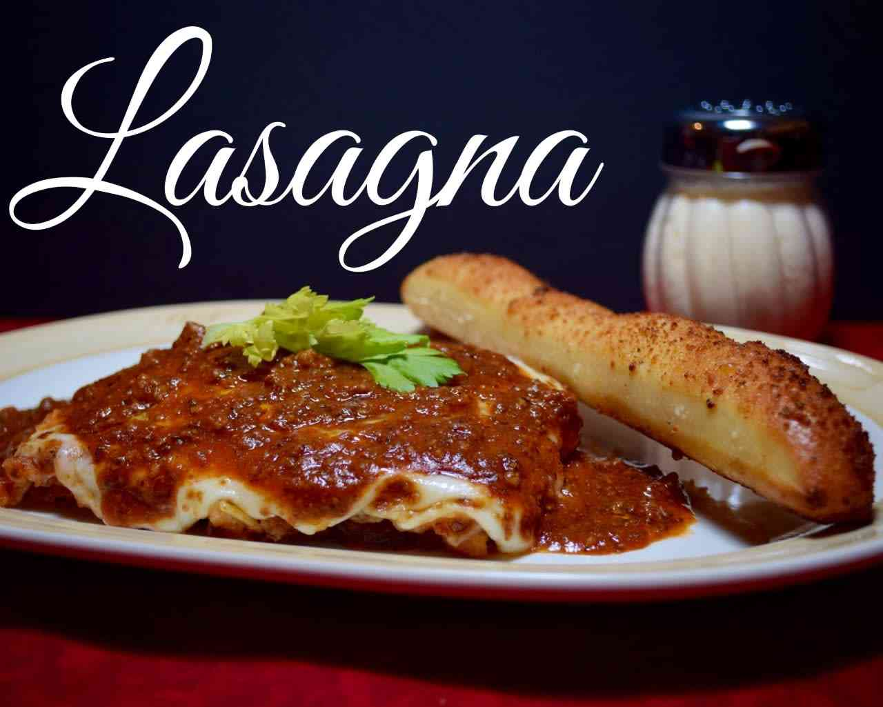 Lasagna, Salad & Breadsticks Special