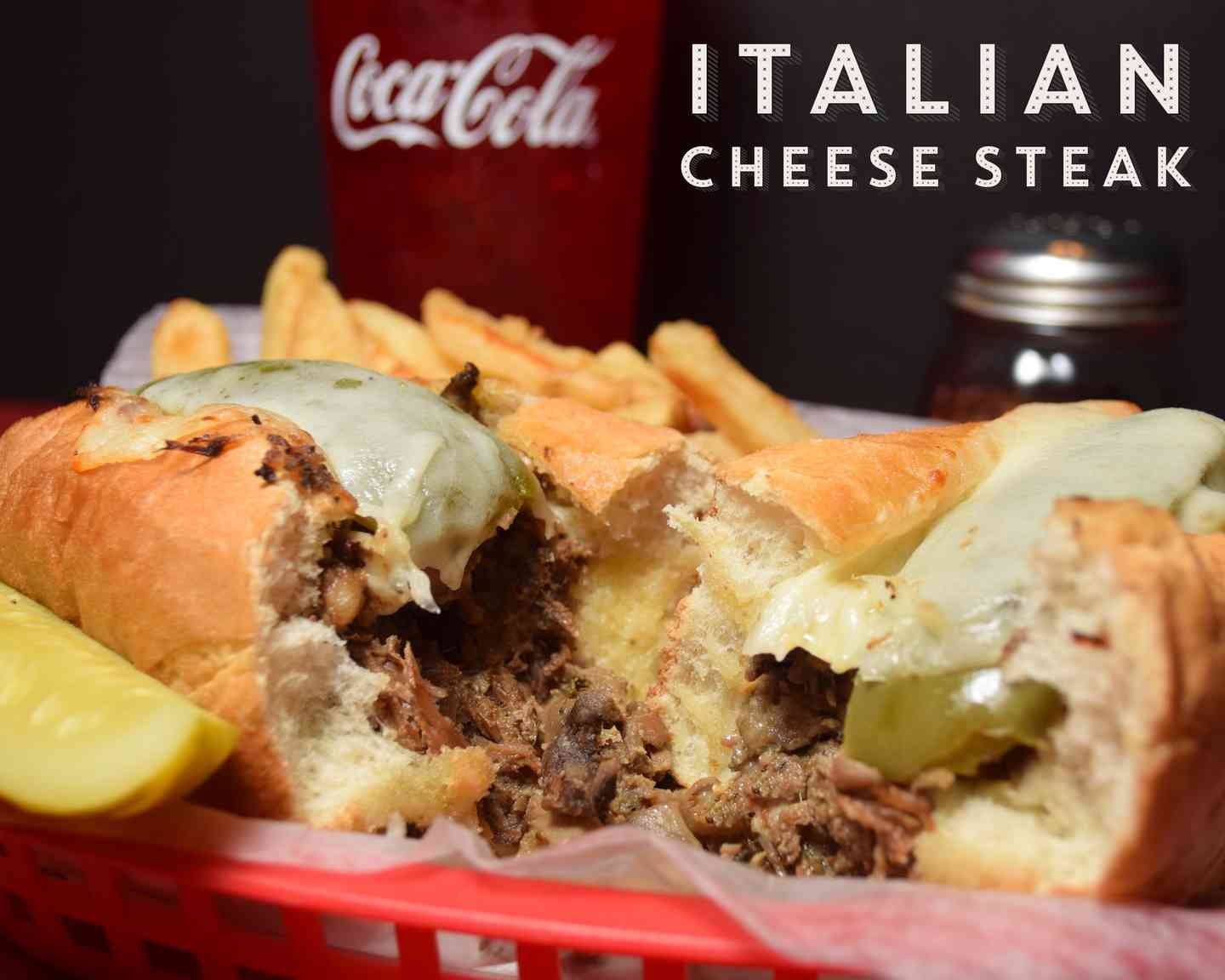 Italian Cheese Steak Sandwich