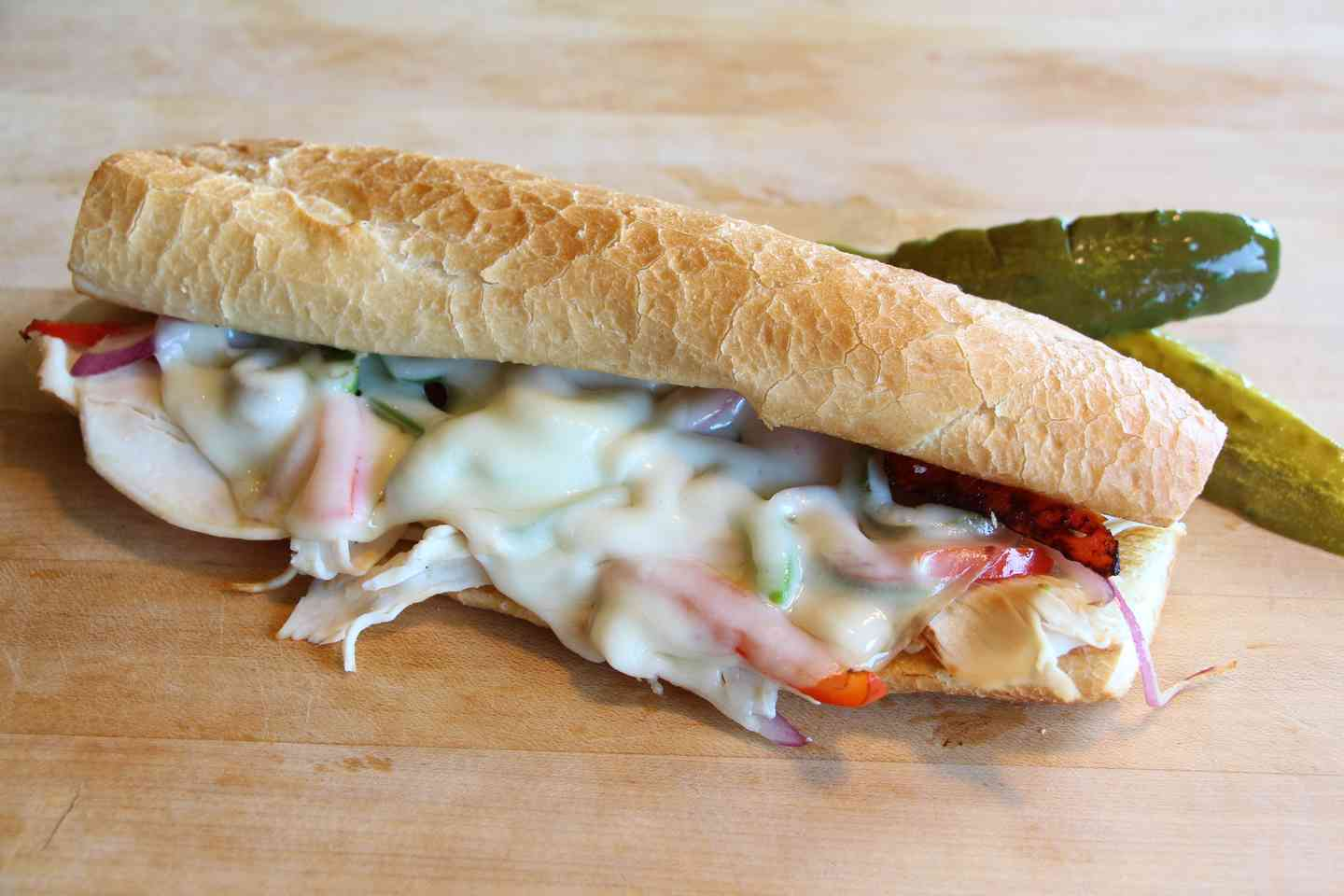 TURKEY PHILLY SANDWICH