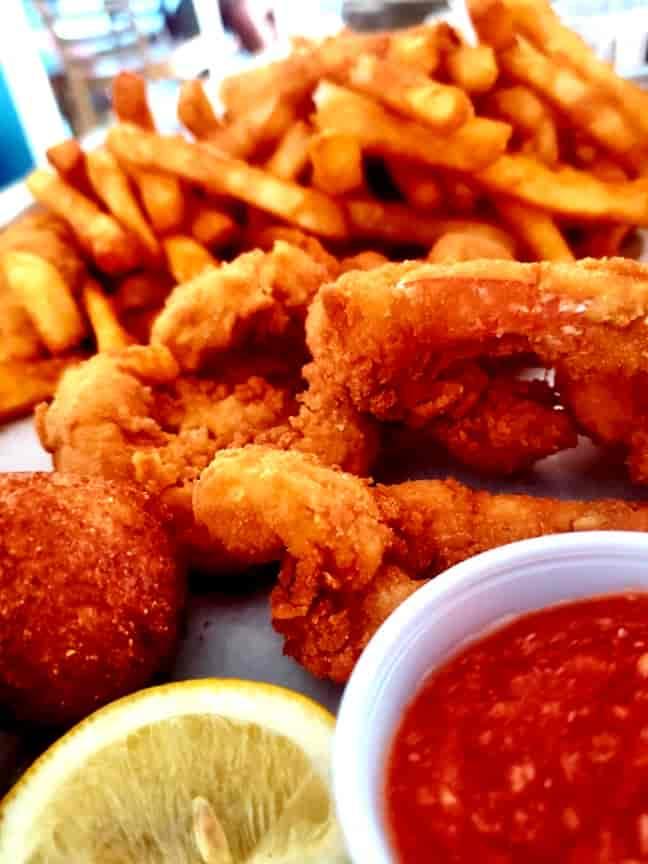 Fried Shrimp Dinner