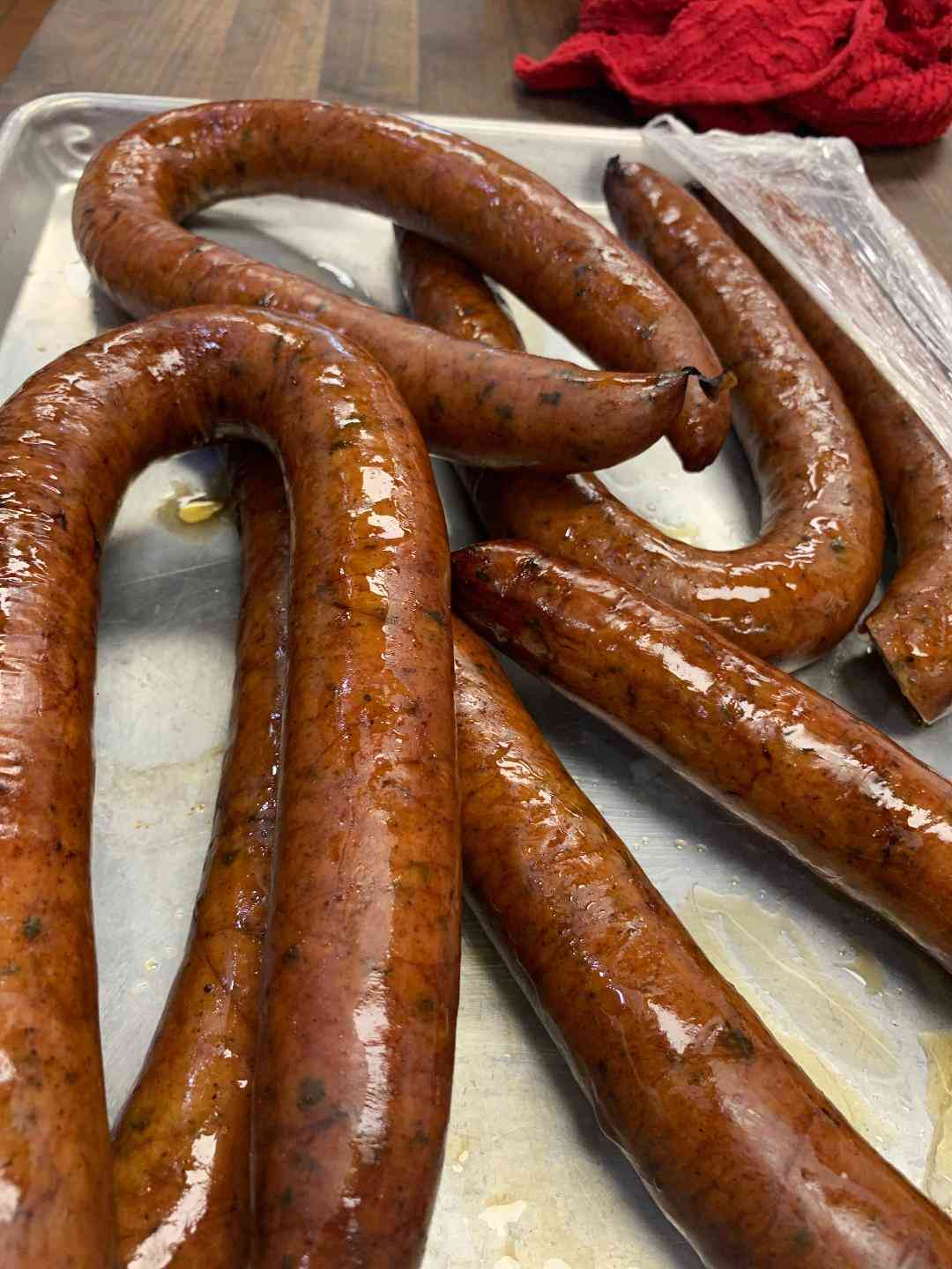 Smoked Pork Sausage Spicy