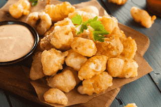 Fried Cheese Curds**