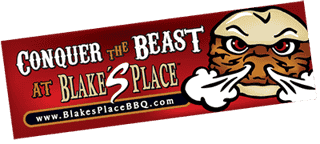 the beast challenge bumper sticker
