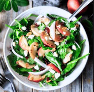 Turkey Apple Brie Salad