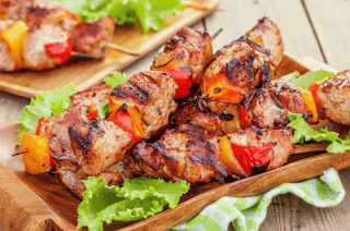 Pork Tenderloin Kebab