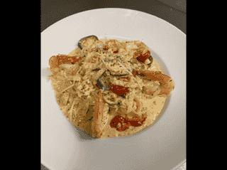 Seafood Fettuccine