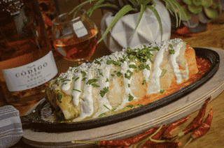 Smothered Burrito Grande