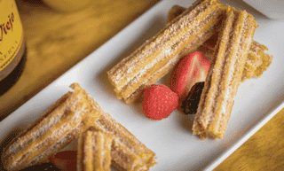 Stuffed Baked Churros