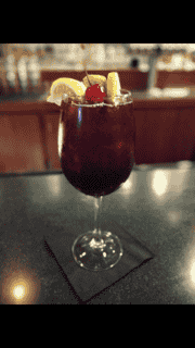 Winter Red Sangria