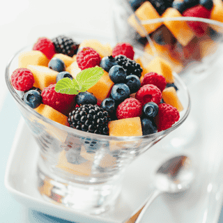 Mixed Fruit Salad Bowl