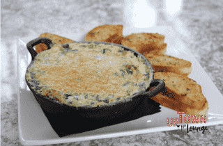 Spinach & Roasted Artichoke Dip