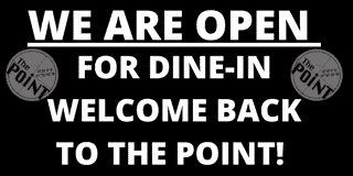 we are back and open for dine in