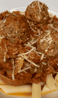 Louisiana Meatball Bolognese