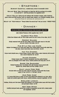 Starter - Dinner Menu p1 05-28-2020