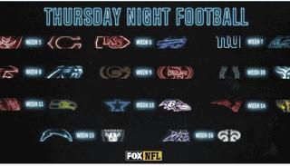 thursday night football schedule 2020