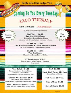 Taco Tuesday Weekly