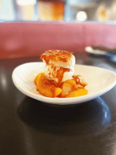 Strawberry and Peach Shortcake