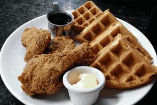 Buttermilk Fried Chicken and Belgian Waffle