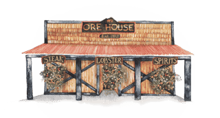 Ore House Historic Painting