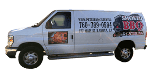 pete's catering van