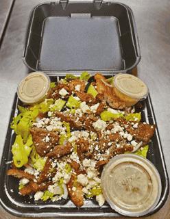 Greek (Lamb Or Chicken) Salad