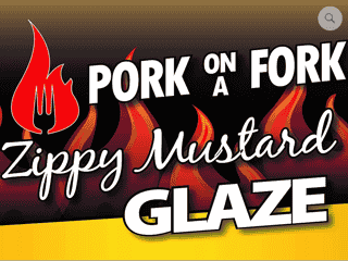 Zippy Mustard Barbecue Glaze