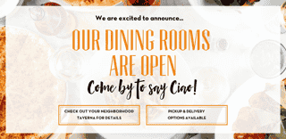 Dining rooms open