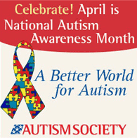 Autism Awareness Month flyer