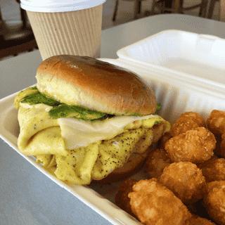 Avocado Egg and Cheese