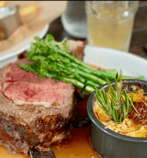 One Pound cut of Slow Roasted Prime Rib