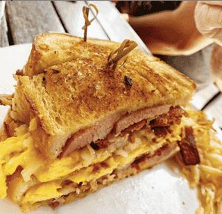 Cuco's Big A$$ Breakfast Sandwich
