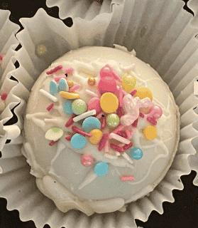 Sprinkle Bomb White Chocolate