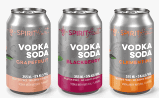 Spirit Fruit's Vodka Soda