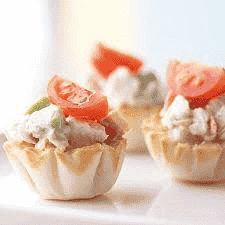Curry Chicken Salad Tartlet