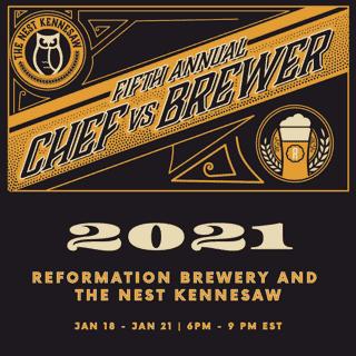Ref beer dinner poster 2021