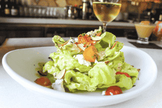 Organic Butter Lettuce & Herbed Goat Cheese