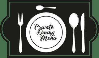 private dining menu icon