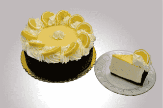 White Chocolate Lemon Mousse Tart