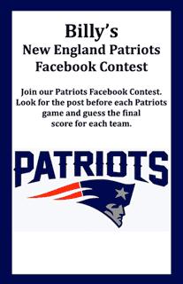 patriots contest