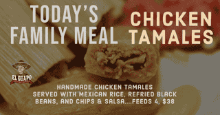 Chicken Tamales Family Meal