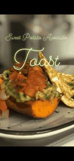 Sweet Potato Avocado Toast