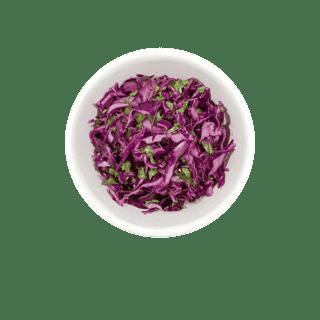 Cilantro Purple Cabbage