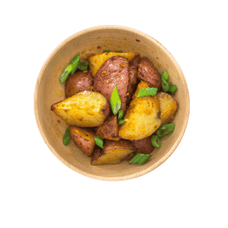 Scallion Red Potatoes