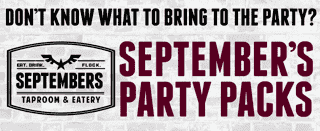 Be the MVP with Septembers Party Packs!
