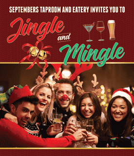 Jingle and Mingle at Septembers!
