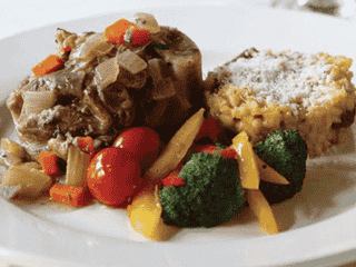 Meat with Mixed Vegetables