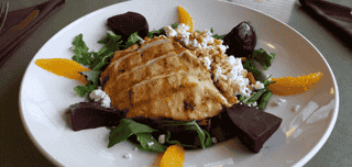 Chicken, Beet and Quinoa Salad